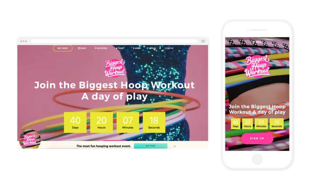 Biggest Hoop Dance Workout Workpress Webdesign