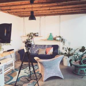 Interview Set up at 11past11studio