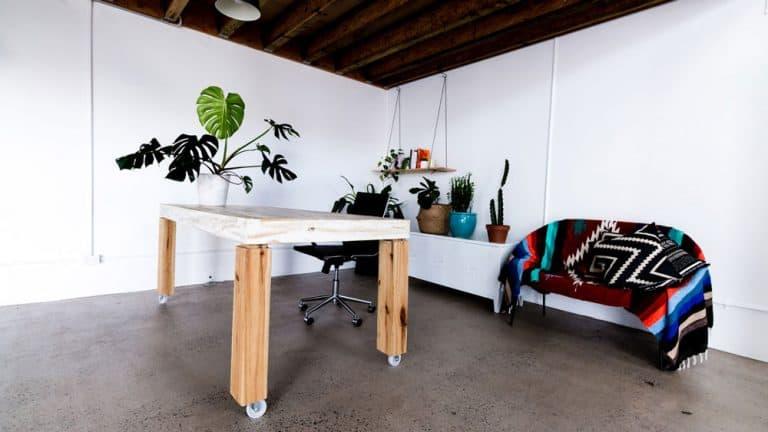 Gold Coast Studio Hire Working Desk Area