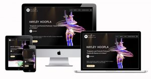 Hayley Hoopla Custom Website Shopping Cart by 11Past11Studio